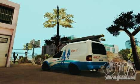 Chevrolet Combo Gasco pour GTA San Andreas laissé vue