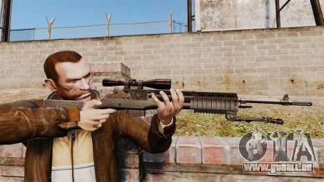 M21 sniper rifle v2 pour GTA 4