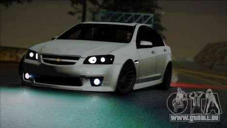 Chevrolet Omega pour GTA San Andreas vue de droite