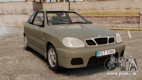 Daewoo Lanos Sport PL 2000 pour GTA 4