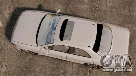 Toyota Mark II 1990 v2 für GTA 4 rechte Ansicht