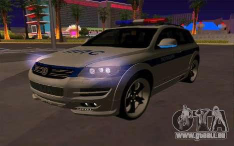 Volkswagen Touareg R50 für GTA San Andreas Unteransicht