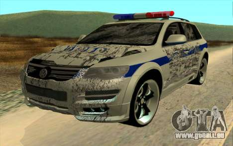 Volkswagen Touareg R50 für GTA San Andreas Innenansicht