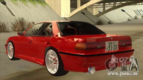 Toyota Chaser JZX81 Touge Style pour GTA San Andreas vue arrière
