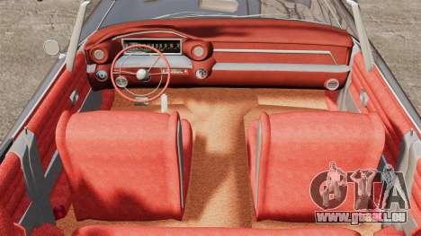 Cadillac Eldorado 1959 v1 pour GTA 4 Vue arrière