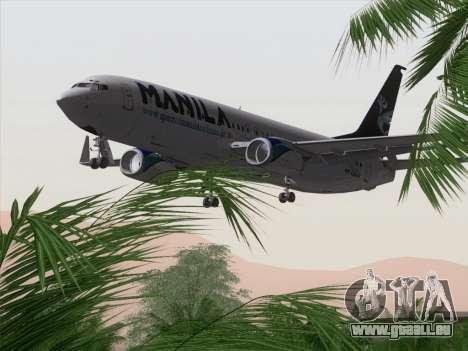 Boeing 737-800 Spirit of Manila Airlines pour GTA San Andreas moteur