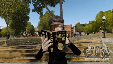 Le livre de Harry Potter pour GTA 4