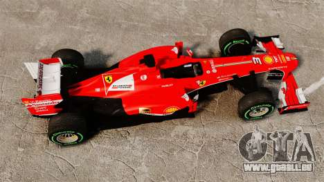 Ferrari F138 2013 v3 für GTA 4 rechte Ansicht