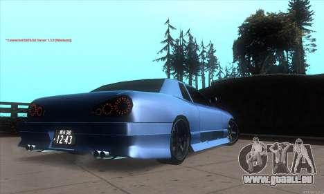 Elegy awesome D.edition pour GTA San Andreas vue de droite