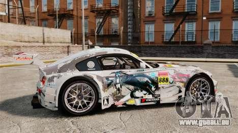 BMW Z4 M Coupe GT Black Rock Shooter pour GTA 4 est une gauche