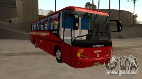 Bagong Lipunan Transit BM 384 für GTA San Andreas linke Ansicht