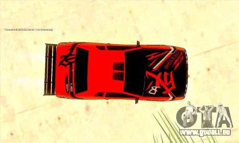 Elegy Sport pour GTA San Andreas vue arrière