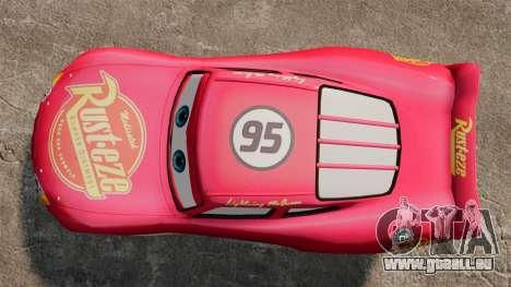 Lightning McQueen v1. 2 für GTA 4 rechte Ansicht