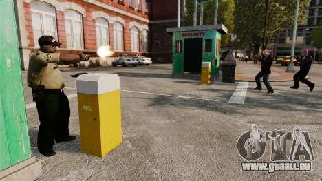 Polizei-Wachen für GTA 4 dritte Screenshot