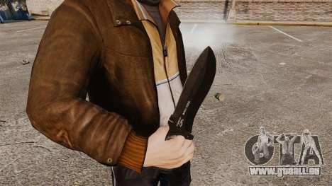 Couteau tactique v6 pour GTA 4 secondes d'écran