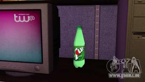 La nouvelle bouteille de fizzy drink 7UP pour GTA 4 troisième écran