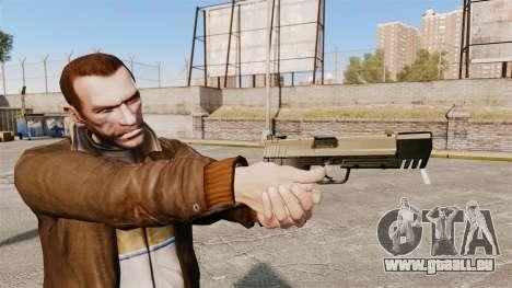Chargement automatique pistolet USP H & K v3 pour GTA 4