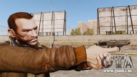 Chargement automatique v2 de pistolet Walther PP pour GTA 4
