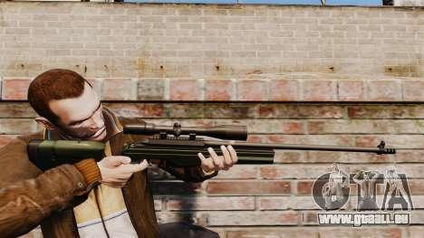 Fusil de précision Sako TRG-42 pour GTA 4