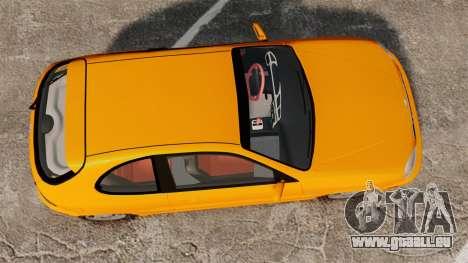 Daewoo Lanos Sport US 2001 pour GTA 4 est un droit