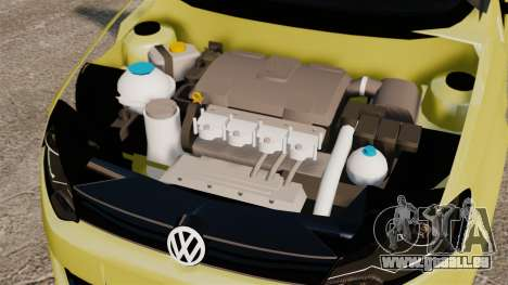 Volkswagen Gol G6 für GTA 4 Innenansicht