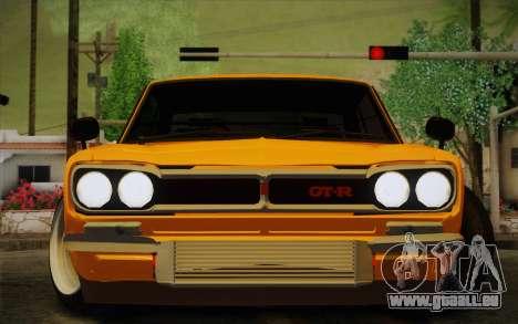 Nissan Skyline 2000GT-R Hoon für GTA San Andreas