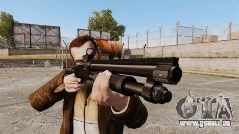 Fusil de chasse tactique v2 pour GTA 4 troisième écran