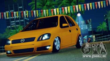 Chevrolet Celta für GTA San Andreas rechten Ansicht