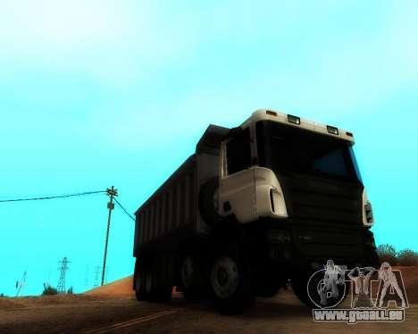 Scania P420 8X4 Dump Truck pour GTA San Andreas vue de droite