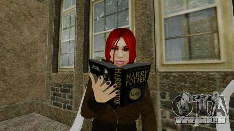 Le livre de Harry Potter pour GTA 4 troisième écran