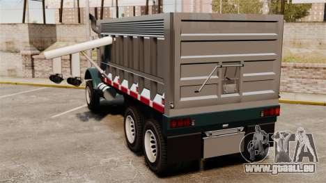 Nouveau camion Biff pour GTA 4 Vue arrière de la gauche