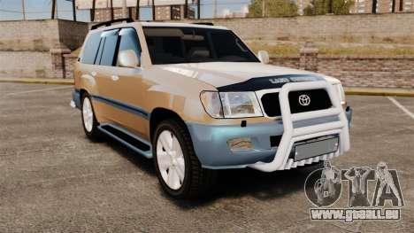Toyota Land Cruiser 100 pour GTA 4