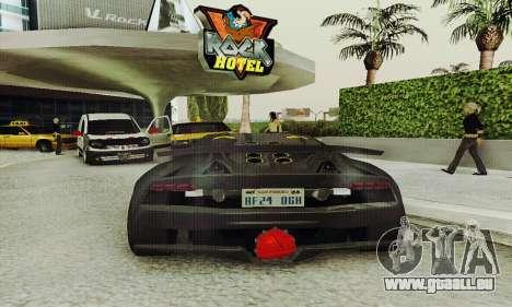 Lamborghini Sesto Elemento für GTA San Andreas Seitenansicht