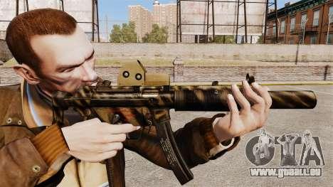 MP5SD mitraillette v3 pour GTA 4