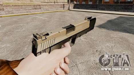 Chargement automatique pistolet USP H & K v3 pour GTA 4 secondes d'écran
