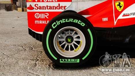 Ferrari F138 2013 v3 für GTA 4 Rückansicht