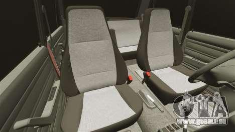 VAZ-2107 für GTA 4 Unteransicht