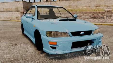 Subaru Impreza WRX STI 5 Domestic Drifter 1999 pour GTA 4