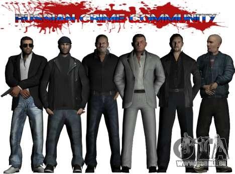 Russian Crime Community pour GTA San Andreas