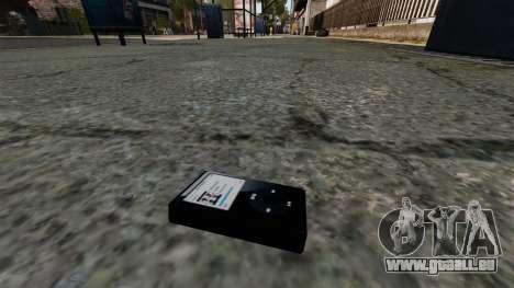 Mise à jour MP3 player pour GTA 4 troisième écran