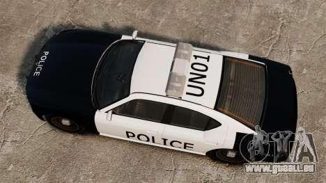 Buffalo policier LAPD v1 pour GTA 4 est un droit
