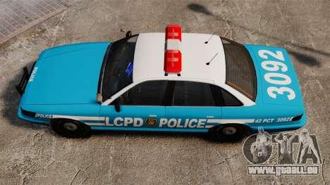 LCPD Police Cruiser für GTA 4 rechte Ansicht