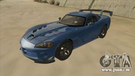 Dodge Viper SRT-10 ACR TT Black Revel pour GTA San Andreas