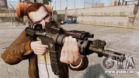 Tactique M4 v3 pour GTA 4 troisième écran