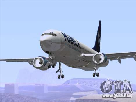 Boeing 737-800 Spirit of Manila Airlines pour GTA San Andreas roue