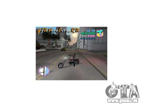 Harley Chopper pour GTA Vice City
