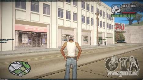 GTA HD Mod pour GTA San Andreas cinquième écran