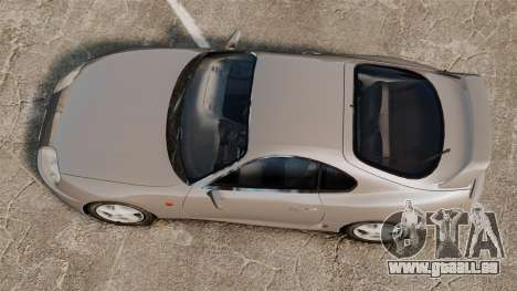 Toyota Supra MKIV 1995 v3.5 pour GTA 4 est un droit