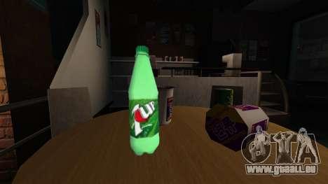 La nouvelle bouteille de fizzy drink 7UP pour GTA 4