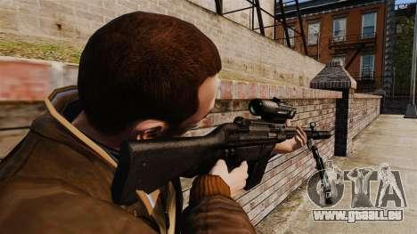 HK G3SG1 sniper rifle v1 pour GTA 4 secondes d'écran